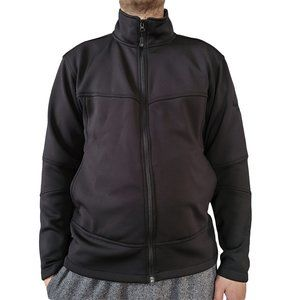 OUTERBOUNDARY Black Full Zip Sweater M